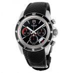 Tudor/チュードル メンズ 腕時計 Grantour クロノグラフ 自動巻き Black Dial Black 革製 メンズ Watch 20530N-BKMCPL