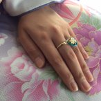 指輪/リング/レディース/水引/アクセサリー/京都/お土産/プレゼント/おしゃれ/可愛いHA-KO-42