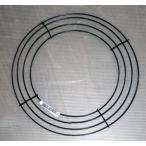 ワイヤーリース ワイヤーフレーム 25cm 手作りのフラワーリースの土台に 資材