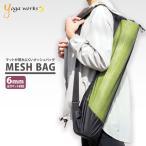 Yahoo!エル・ローズ オンラインショップヨガワークス メッシュバッグ ヨガマットケース 人気 ヨガマット 持ち運び yogaworks ヨガバッグ おしゃれ 収納 メール便送料無料