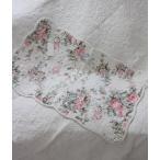 トリアノン フラワーキルト マット(50×80cm)キッチンマット  キルティング 布製 アンティーク風 フレンチカントリー シャビーシック 綿100%