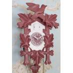 ドイツ製 鳩時計 ハト時計 ラズベリーピンク×ホワイト Lサイズ 掛け時計 TRENKLE UHREN トレンクル・ウーレン社 フレンチカントリー 姫系