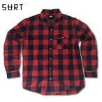 RHC Ron Herman (ロンハーマン)限定販売: SURT ネルシャツ レッド