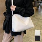 バッグ ショルダーバッグ レディース 大きめ a4 通勤 無地 シンプル カジュアル スクエア型 ジッパー付き 合成皮革 PUレザー 鞄