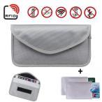 NewseegoのRFID信号ブロックバッグ |クレジットカカセット2枚| 車のキーチェーンと携帯電話のブロックポケット用アンチファラデーバ