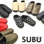 2020 SUBU 新作 サンダル おしゃれ 外履き スリッパ 起毛 暖かい 防寒 ダウンサンダル キルティング 撥水 冬 靴