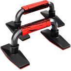 プッシュアップバー 滑り止めラバー付き 320kg耐荷重 滑り止め 軽量 組立が簡単