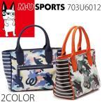 M・U SPORTS MUスポーツ ゴルフ ラウンドバッグ レディース ミエコ ウエサコ 703U6012 全2色 MU16 1006