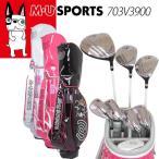 M・U SPORTS MUスポーツ ゴルフバッグ レディース キャディバッグ クラブセット クラブ8本+キャディバッグ付 ミエコ ウエサコ 703V3900 全3色 MU16 1201