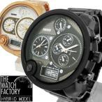 腕時計 メンズ アナデジ 1年保証 メンズ 腕時計 アナログ & デジタル デュアルタイム ビッグフェイス 腕時計 全2色 N1003 0125