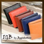 折り財布 メンズ レディース IGGINBOTTOM BASIC イギンボトム ベーシック 2つ折財布 LT-GS 11SP