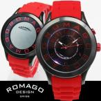 腕時計 メンズ レディース ブランド 1年保証   EXILE NAOTO 着用  正規 ROMAGO(ロマゴ) ATTRACTION ミラー文字盤 ビッグフェイス 腕時計 BOX 保証書付