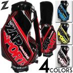 特価タイムセール ゴルフ ツアープロタイプ ゴルフバッグ 全4色 正規 ZAP GOLF 9.5型 バイカラー仕様 エナメル ZAP SPOTS キャディバッグ 10SPS  ZPSP