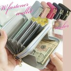 財布 レディース ダブルファスナー 本革 財布 小銭入れ カードケース 大容量 コインケース レディース レザー かわいい 名刺入れ 多機能 おしゃれ  プレゼント