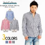 ショッピングギンガムチェック ギンガムチェックシャツ メンズ 長袖 日本製 チェック ギンガムチェック カジュアル Yシャツ