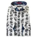 Louis&Clerk(ルイス&クラーク) メンズ長袖 ワイシャツ RLD558-801 ホワイト S, M, L, LL, 3L,