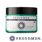 ムスク・香水・消臭剤グルーミングバーム グリーンウッド 40g (全身クリーム・ボディクリーム)  PROUDMEN(プラウドメン)メンズ