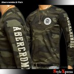 アバクロ アバクロンビー&フィッチ Abercrombie & Fitch ロンT メンズ