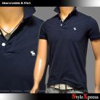 アバクロ アバクロンビー&フィッチ Abercrombie & Fitch ストレッチ ポロシャツ メンズ