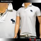 アバクロ アバクロンビー&フィッチ Abercrombie & Fitch ビッグムース ポロシャツ メンズ