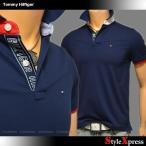 トミーヒルフィガー Tommy Hilfiger ポロシャツ メンズ画像