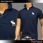 アバクロ アバクロンビー&フィッチ Abercrombie & Fitch ポロシャツ メンズ