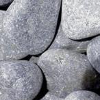 天然玉砂利 那智石 黒 LL (約40mm) 約15kg (宅配便)(メーカー直送)(代引不可)