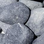 天然玉砂利 那智石 黒 XL (約50mm) 約15kg (宅配便)(メーカー直送)(代引不可)