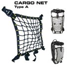 е▄е╓еые╙б╝ елб╝е┤е═е├е╚ е┐еде╫A Point65 BOBLBEE CARGO NET TYPE A (Black/YELLOW)