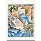 ファングリス パブロ・ピカソの肖像 ジクレーポスターA1(594ミリ×841ミリ)