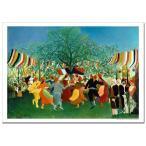 ルソー 独立百年祭 ジクレーアートポスター B4 (364ミリ×257ミリ)
