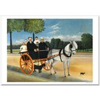 ルソー ジュニエ爺さんの馬車 ジクレーアートポスター B4 (364ミリ×257ミリ)