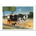 ルソー ジュニエ爺さんの馬車 ジクレーアートポスター A2 ( 594ミリ×420ミリ)