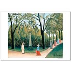 ルソー ルクセンブルク公園、ショパン記念碑 ジクレーアートポスター A2 ( 594ミリ×420ミリ)