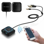 ショッピングbluetooth Bluetooth ミュージックレシーバー 4.0 カー 車 ワイヤレスオーディオレシーバー iPad/iPhone/スマホなどbluetooth発信端対応