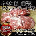 イベリコ豚 霜降り セクレト ステーキ肉 5枚×150g ギフト お取り寄せ 肉 ブロック肉 お正月 肉 最高級ベジョータ