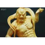 木彫り 仏像 金剛力士像 仁王像 仏教美術 置物 フィギュア 金剛力士 仁王 高さ20cm 2像セット