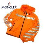 モンクレール・オー コラボ ウインドブレーカー  オレンジ サイズ2 GANGUI 4110080 54155 メンズ  MONCLER×OFF-WHITE