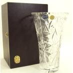 Bohemia Lead Crystal Glass ボヘミア レッド クリスタル ガラス 花瓶