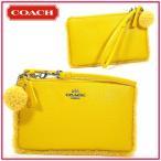 COACH コーチ ポーチ ボックスプログラム シアリング スモールリストレット バナナ 64765B