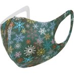 クリスマスマスク 冷感【 MASZONE 】布マスク 立体 涼しめ 洗えるマスク 冷感 超快適マスク スポーツ マスク 繰り返し ひんやり感 衛生的