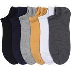 ECONT 靴下 メンズ くるぶし ソックス メンズフットカバー ショートソックス スポーツソックス スニーカーソックス アンクルソックス 綿100%