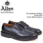 オールデン ALDEN メンズ ALL WEATHER WALKER シューズ オールウェザー ウォーカー Dワイズ 949 ブラック