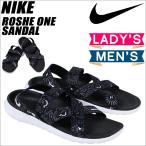 ショッピングNIKE NIKE ナイキ ローシワン サンダル レディース WMNS ROSHE ONE SANDAL 832644-011 メンズ 靴 ブラック