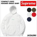シュプリーム Supreme パーカー スウェット プルオーバー メンズ Compact Logo Hooded Sweat Shirt