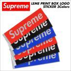 ����ץ�� Supreme ���ƥå��� �ܥå����� ��� LAME PRINT BOX LOGO STICKER ������ ��å� �֥�å� �֥롼