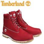 ティンバーランド 6インチ メンズ Timberland ブーツ 6INCHI RADFORD CANVAS BOOTS A1M8B Wワイズ レッド 8/10 新入荷