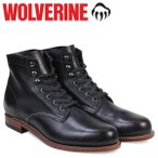 ウルヴァリン WOLVERINE 1000マイル ブーツ メンズ 1000 MILE BOOT Dワイズ W05300 ブラック ワークブーツ 12/24 再入荷