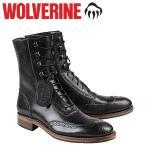 ウルヴァリン WOLVERINE メンズ 1000マイル ブーツ WINCHESTER 1000 MILE BROGUE BOOT Dワイズ W06492 ブラック ワークブーツ