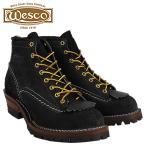 ウエスコ WESCO 6インチ ジョブマスター ブーツ 6INCH JOB MASTER Eワイズ スエード メンズ スウェード ブラック BK106100 ウェスコ